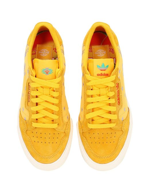 Continental 80 Vulc Trainers in Yellow