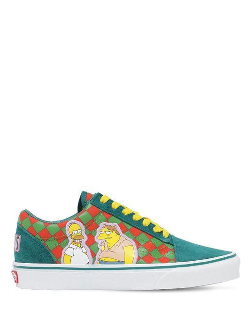 "Кроссовки ""old Skool 36 Dx"" Vans, цвет: Multicolor"