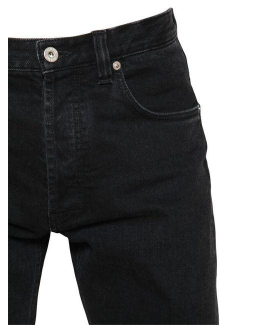 メンズ Loewe コットンデニムジーンズ 18cm Black