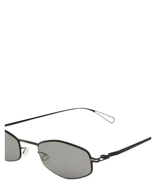 Gafas De Sol Con Montura De Metal Ligero Mykita de color Black