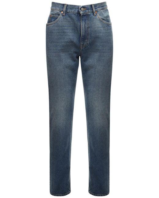 メンズ Gucci コットンデニムジーンズ 20cm Blue