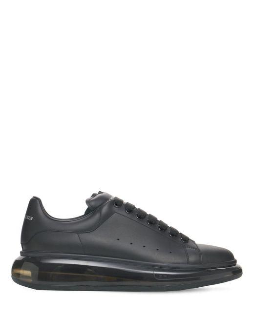 Кожаные Кроссовки Air Sole 45мм Alexander McQueen для него, цвет: Black