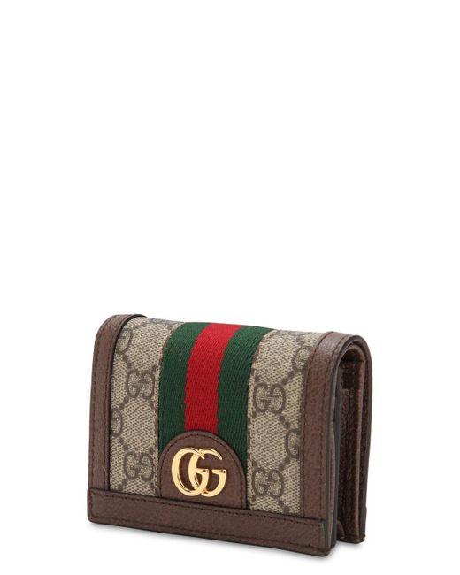 "Кошелёк ""ophidia Gg Supreme"" Gucci, цвет: Brown"