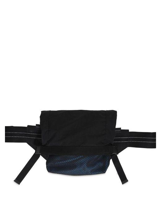 Сумка На Пояс Из Нейлона И Кожи Bottega Veneta для него, цвет: Black