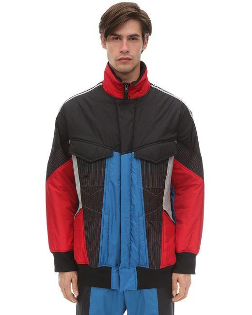 メンズ Y-3 Primaloft ナイロントラックジャケット Multicolor