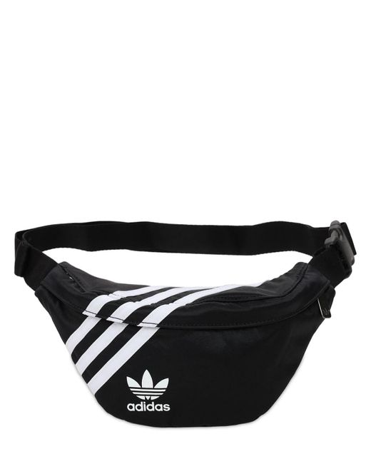 Adidas Originals ロゴベルトバッグ Black