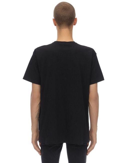 """T-shirt En Jersey De Coton Imprimé """"big 3-future"""" Ih Nom Uh Nit pour homme en coloris Black"""