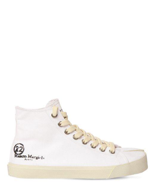 Кроссовки Vandal Из Канвы 20mm Maison Margiela, цвет: White