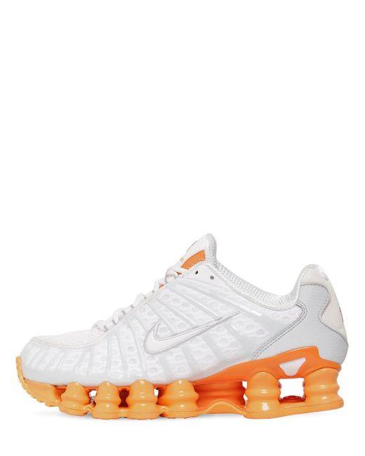 Shox Total Sneakers Nike, цвет: White