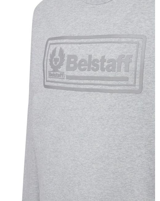 メンズ Belstaff Oulton コットンスウェットシャツ Gray