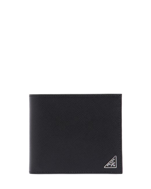 100da3be5 Lyst - Cartera Clásica De Piel Saffiano Prada de hombre de color Negro