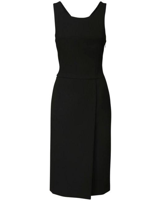 Платье Из Шерстяного Крепа Givenchy, цвет: Black