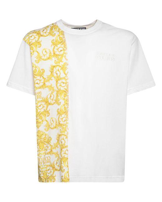 メンズ Versace Jeans コットンtシャツ Multicolor