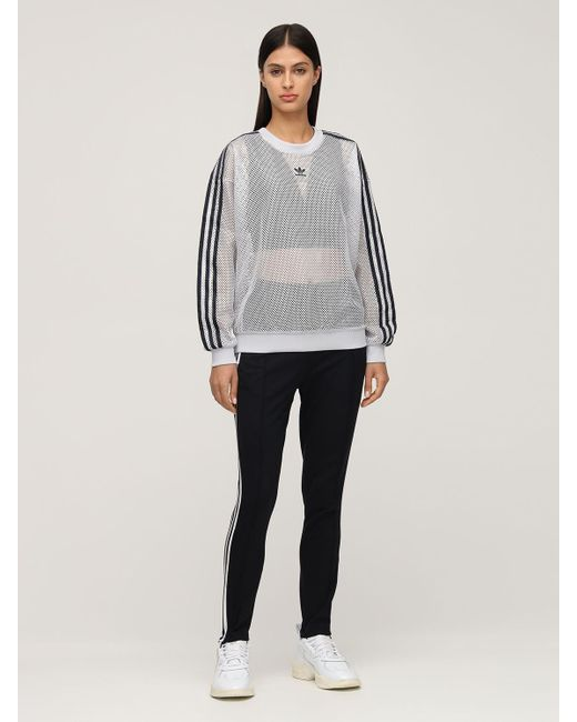 Свитшот Из Хлопка Меш Adidas Originals, цвет: Multicolor