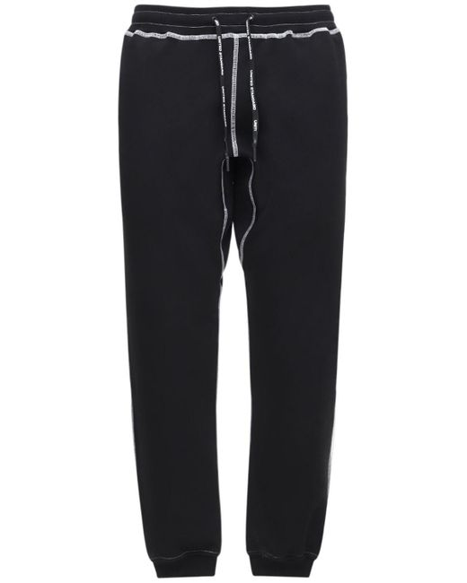 メンズ United Standard コットンブレンドスウェットパンツ Black