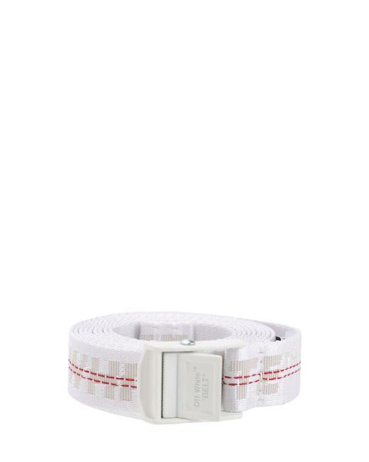 Ремень Из Нейлона С Логотипом 25мм Off-White c/o Virgil Abloh, цвет: White