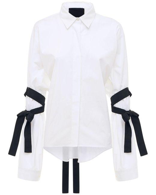 RED Valentino コットンポプリンシャツ White