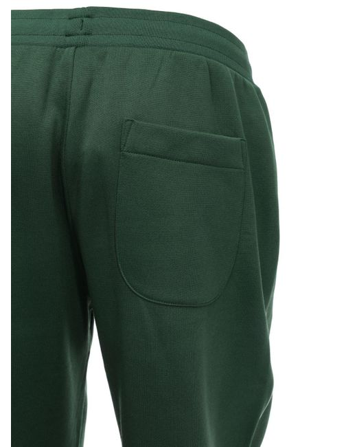 Lacoste Techno Track Pants In Green For Men Lyst