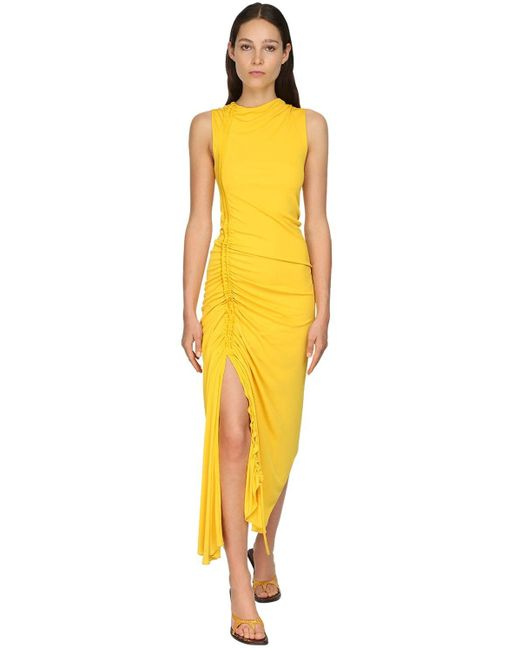 Sies Marjan マットジャージードレス Yellow