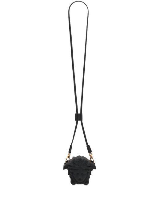 Силиконовый Футляр Medusa Для Airpods Versace для него, цвет: Black