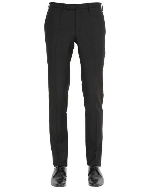 Incotex | Black 18cm Super 100s Wool Batavia Pants for Men | Lyst