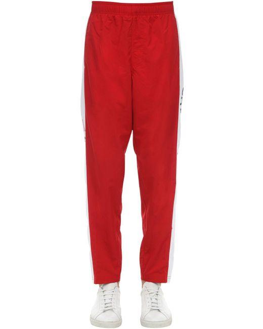 メンズ Polo Ralph Lauren Freestyle ナイロンパンツ Red