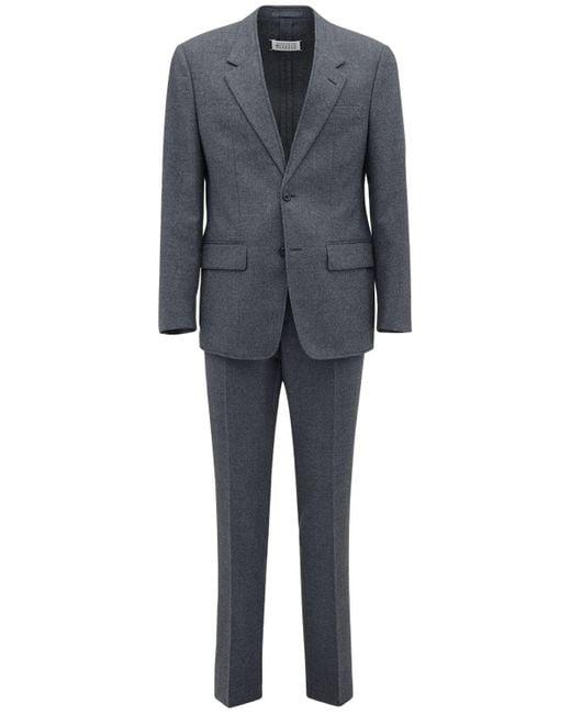 メンズ Maison Margiela ウールスーツ Gray