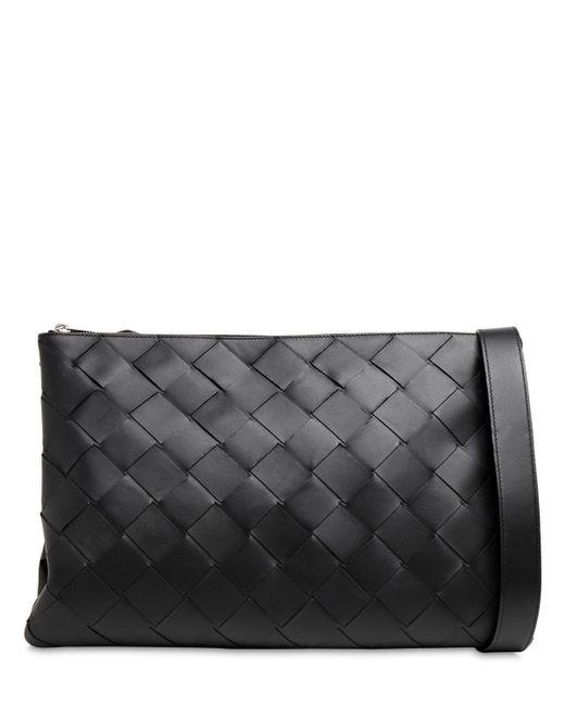 Сумка Medium Maxi Intreccio Bottega Veneta для него, цвет: Black