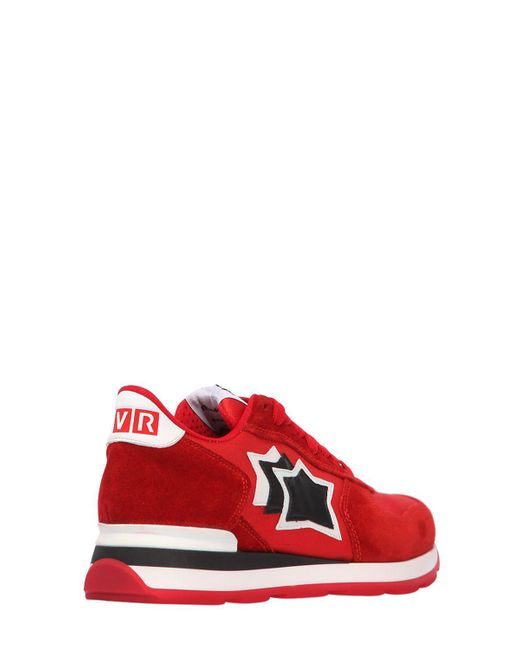Atlantic Stars LVR EDITION ANTARES SUEDE SNEAKERS