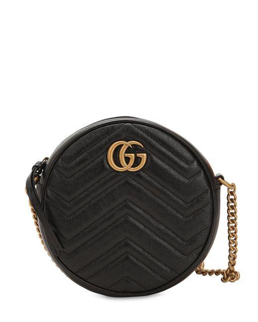 Gucci Circle Gg Marmont ミニ レザーバッグ Multicolor