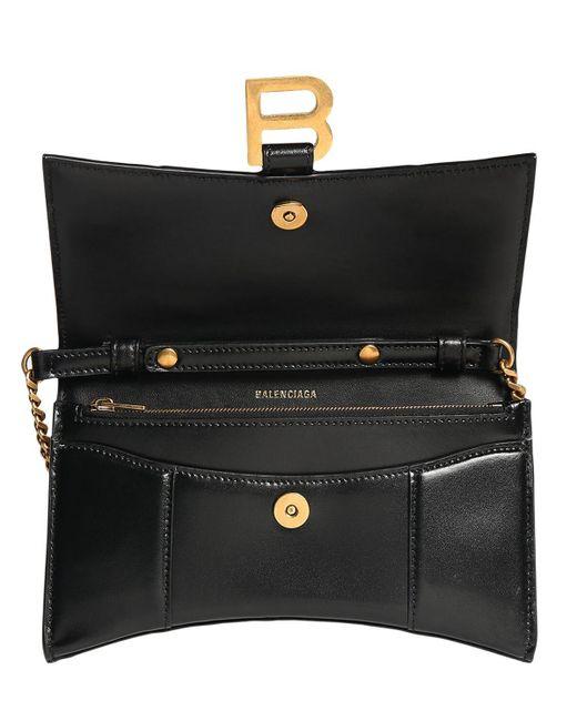 Кожаный Кошелек Balenciaga, цвет: Black