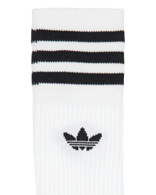 メンズ Adidas Originals ソックス 3足セット White