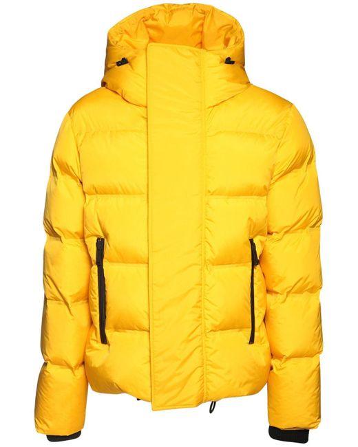 メンズ DSquared² フーデッドナイロンパファージャケット Yellow