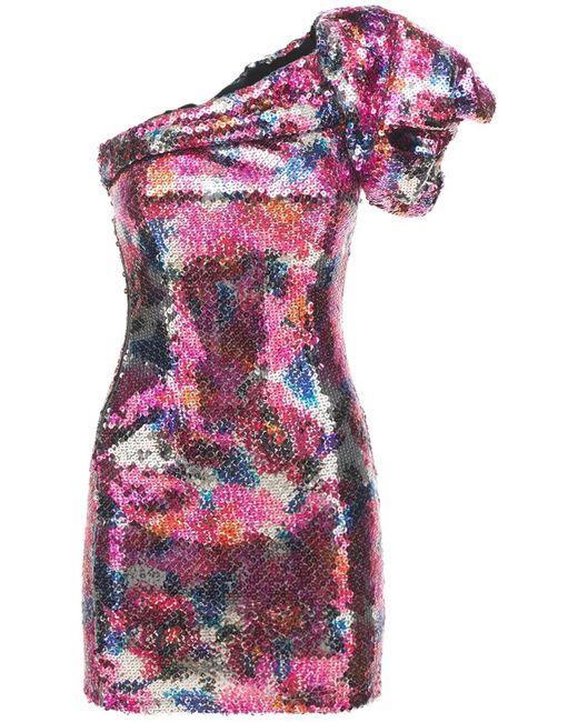 Isabel Marant Osira スパンコールミニドレス Multicolor