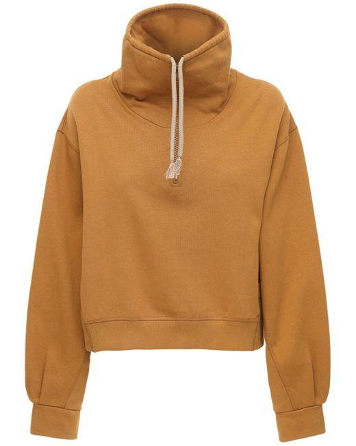 KENZO Multicolor Sweatshirt Aus Baumwolljersey