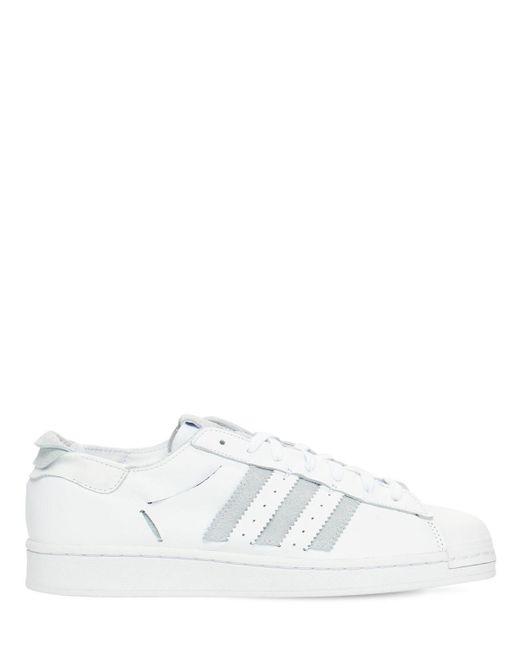 """Sneakers """"superstar Minimalist Icons"""" Adidas Originals pour homme en coloris White"""