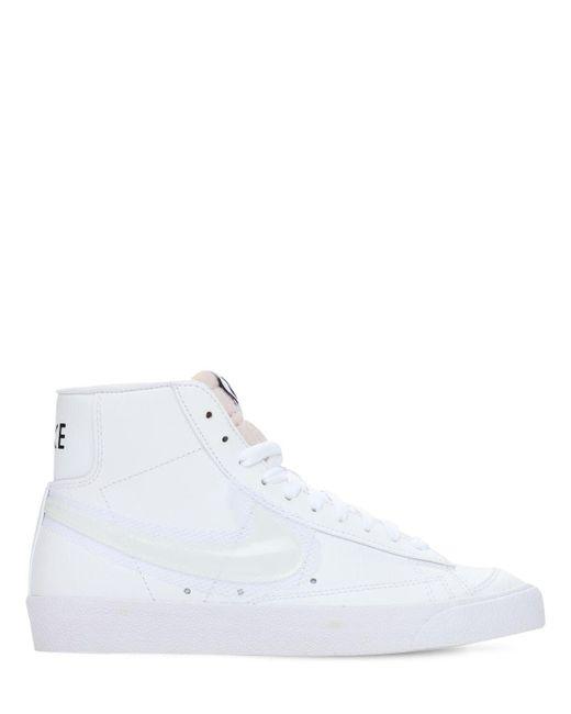 "Кроссовки ""blazer Mid 77"" Nike, цвет: White"