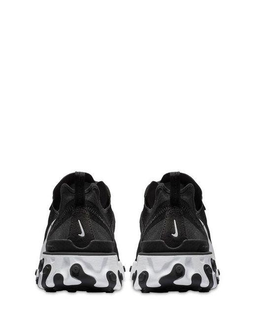 メンズ Nike React Element 55 スニーカー Black