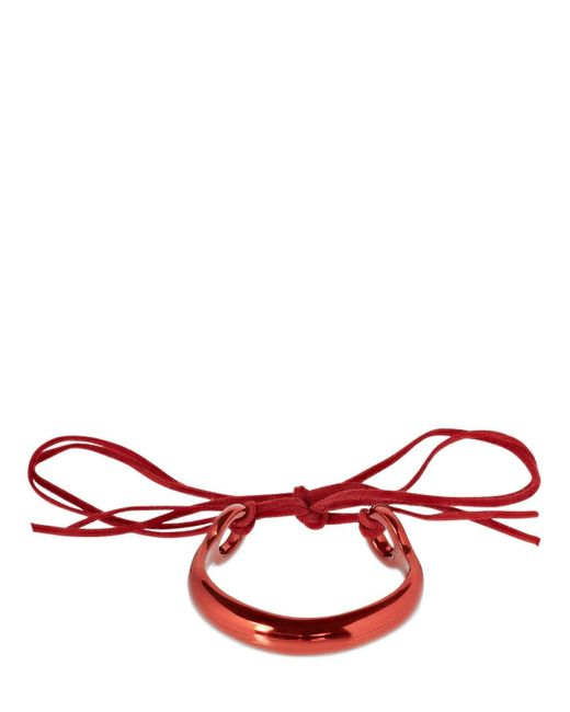 Isabel Marant Hip カフブレスレット Red