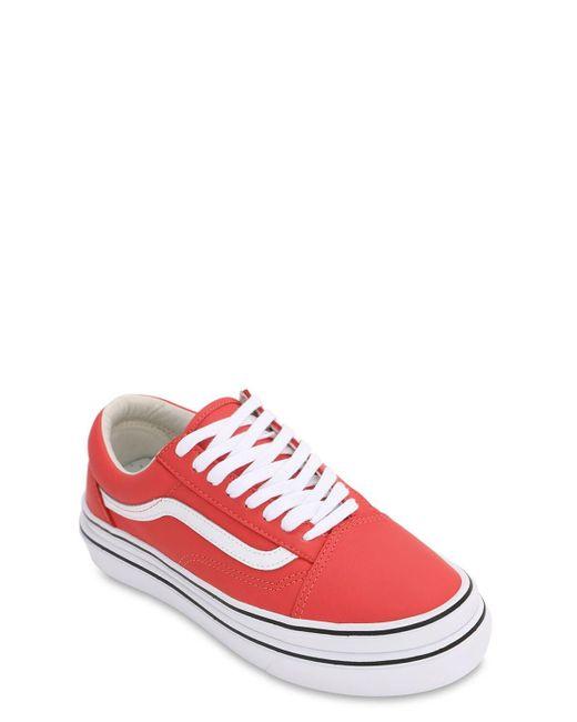 Vans Ua Super Comfycush Old Skool Lx スニーカー Red