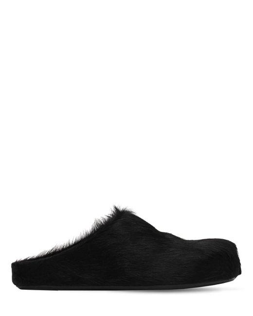 Мюли Fussbett 10мм Marni, цвет: Black