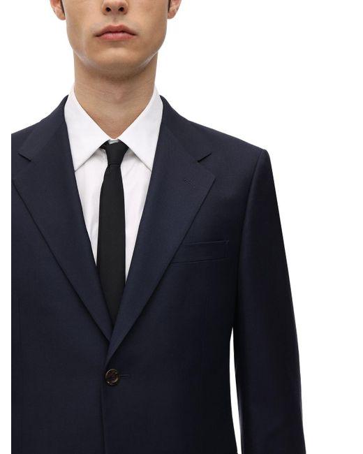メンズ Gucci London ウールブレンドスーツ Blue