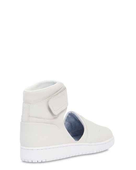 799fd8c9ad4 Lyst - Nike Air Jordan 1 Lover Xx Cutout Sneakers in White - Save 37%