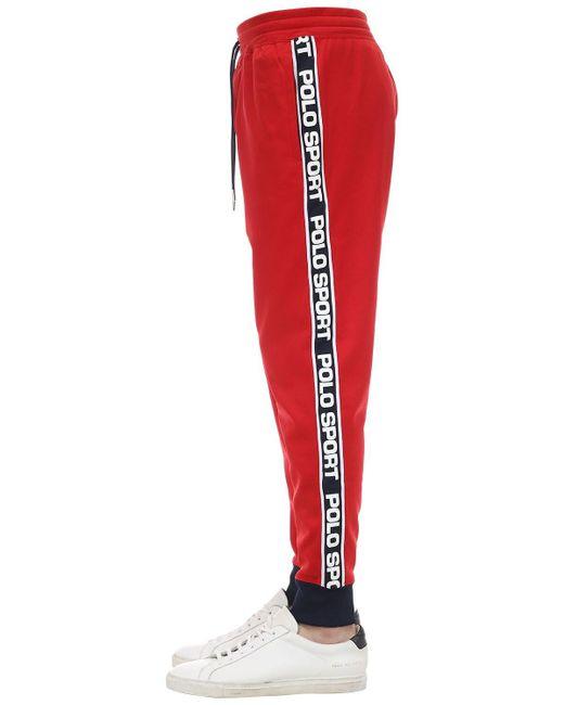 メンズ Polo Ralph Lauren テクノパンツ Red