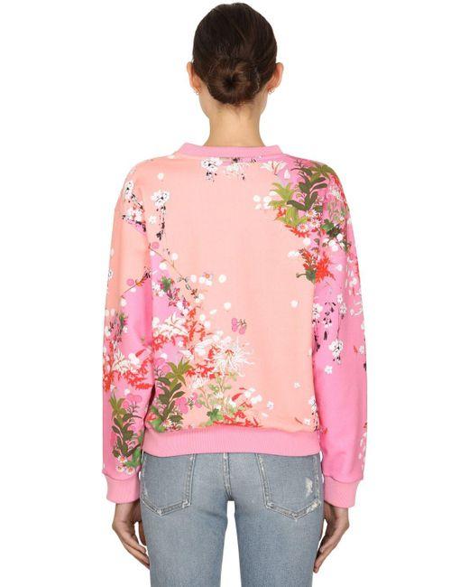 Givenchy コットンスウェットシャツ Pink