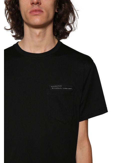 メンズ Givenchy コットンtシャツ Black