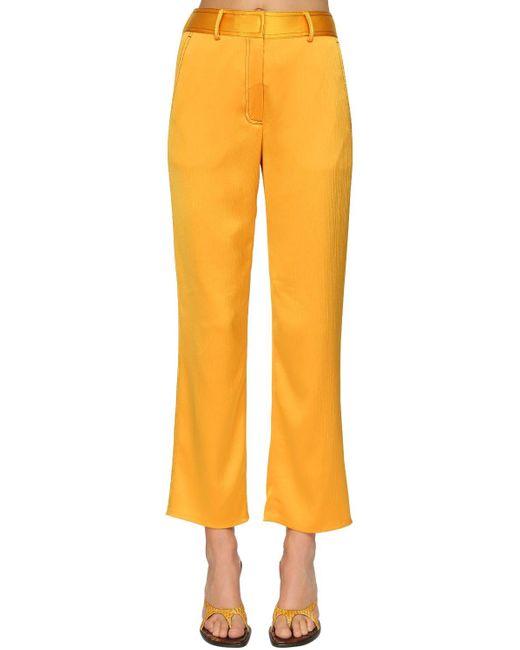Sies Marjan クロップドパンツ Yellow