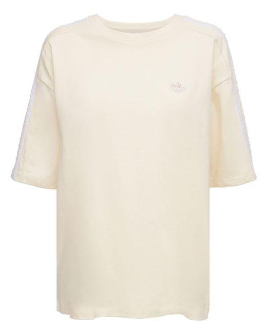 Adidas Originals ルーズtシャツ Natural