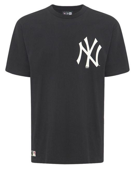 メンズ KTZ Loose New York Yankees コットンtシャツ Black