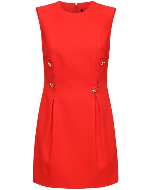 Versace ストレッチカディミニドレス Red